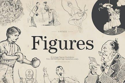 Retro Figures