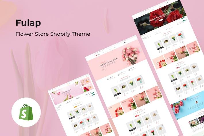Fulap - Цветочный магазин Shopify Тема
