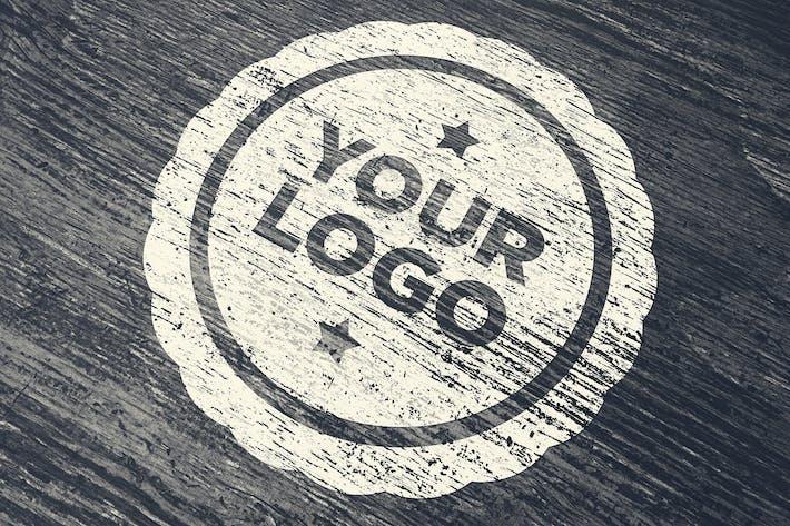 Thumbnail for Logo en bois Mockup 004