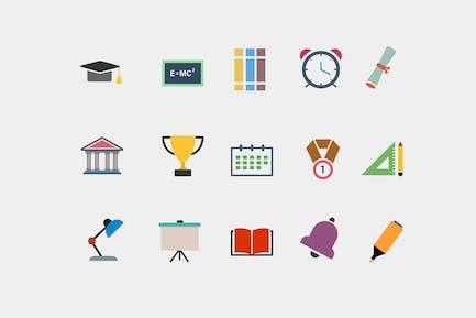 15 University Icons