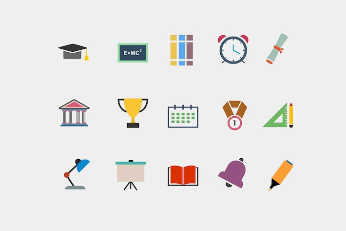 Cover Image For 15 University Icons