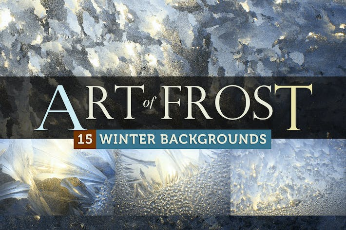 Thumbnail for Art of Frost - Winter Ice Backgrounds