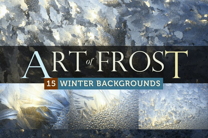 Art of Frost - Winter Ice Backgrounds