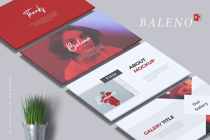 Cover Image For BALENO - Creative Powerpoint Template