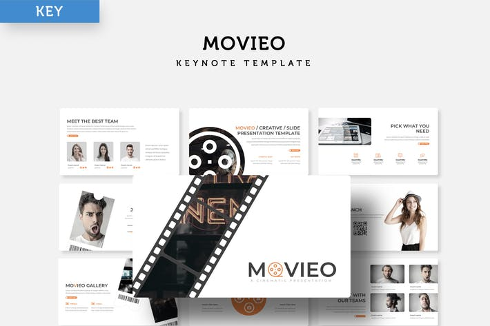 Movieo - Keynote Template
