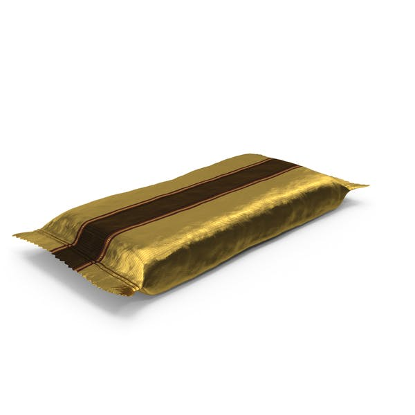 Wrapped Candy Bar Gold
