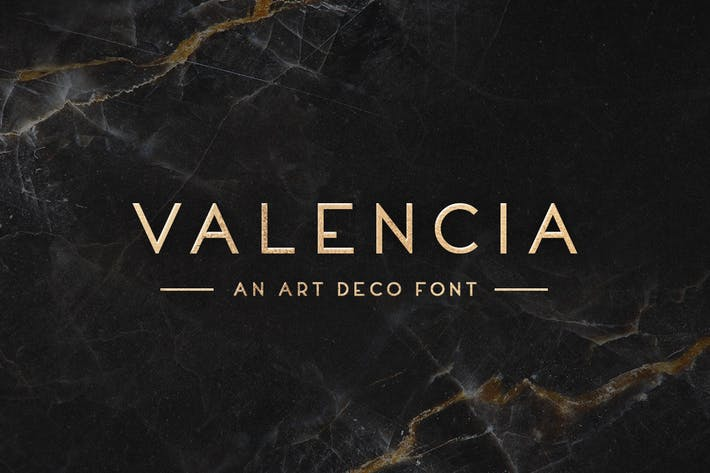 Thumbnail for Valencia Typeface