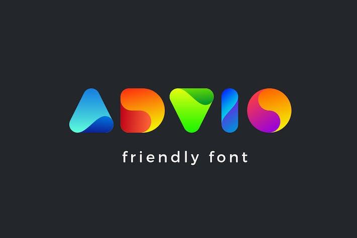 Thumbnail for Tipo de letra Advio