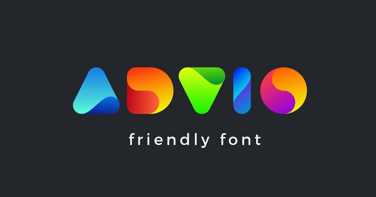 Advio friendly font by Sentavio