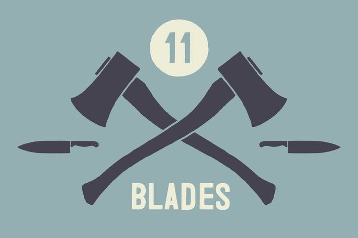 Thumbnail for Hand Illustrated Blades & Knives