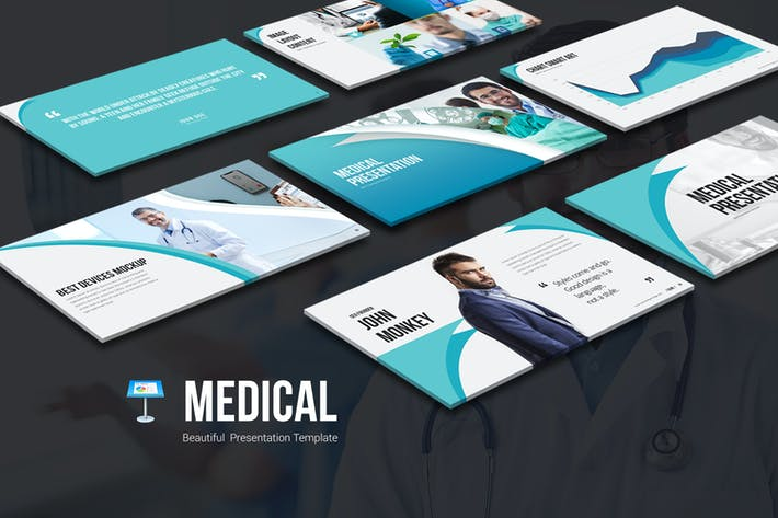 Thumbnail for Medical Keynote Templates
