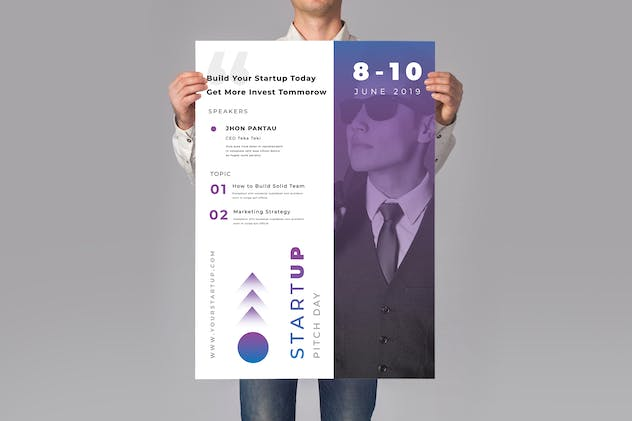 Startup Events Flyers