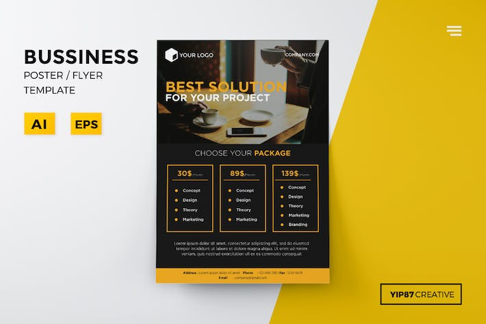 Thumbnail for Business Pricing Flyer