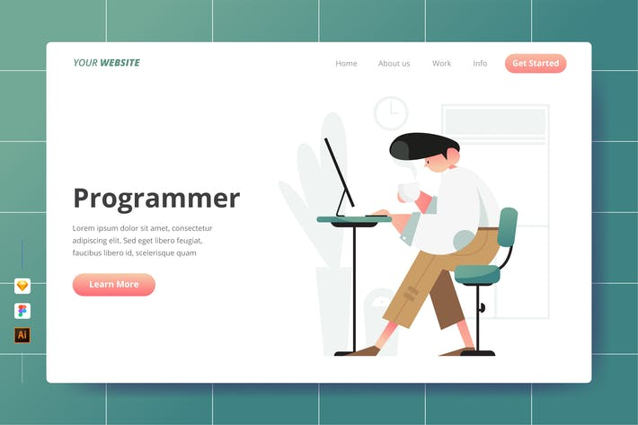 Thumbnail for Programmer - Landing Page