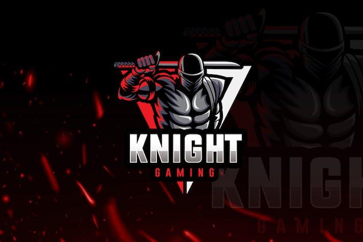 Thumbnail for Knight eSports Gaming Logo