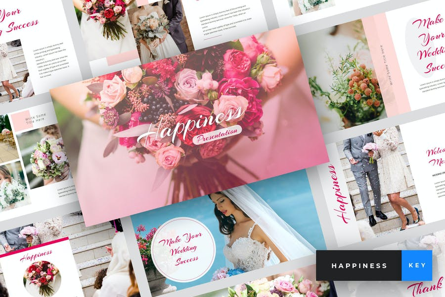 Happiness - Wedding Keynote Template