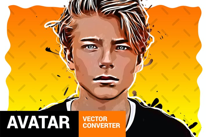 Вектор конвертер - Аватар Photoshop Расширения