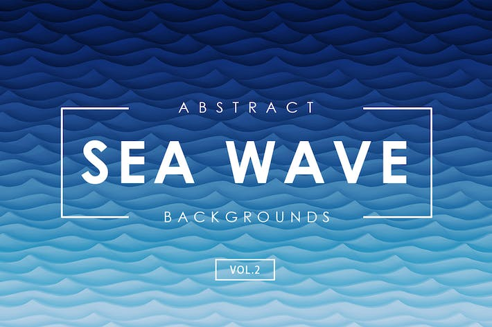 Thumbnail for Sea Wave Abstract Backgrounds Vol.2