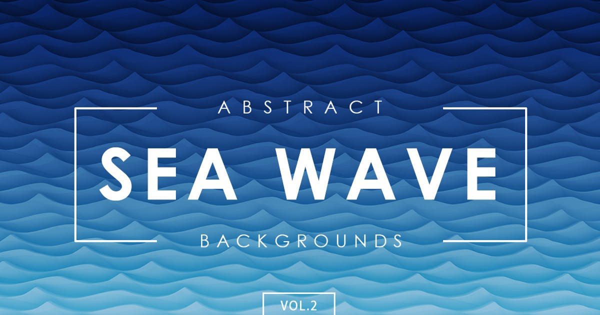 Download Sea Wave Abstract Backgrounds Vol.2 by M-e-f