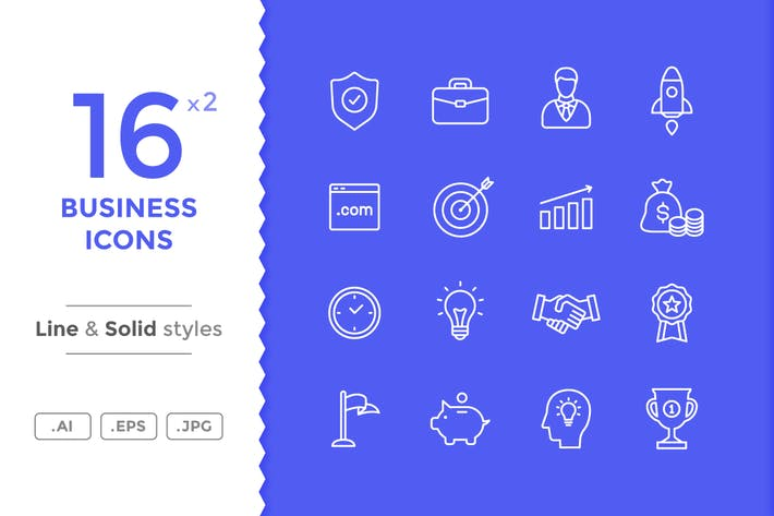 Thumbnail for Business Icons