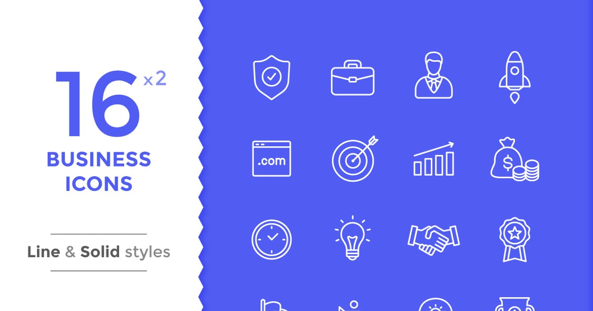 Download Business Icons by filborg