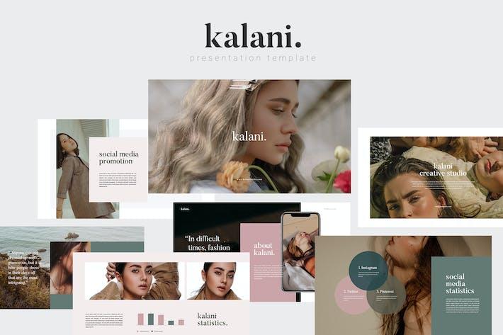 Thumbnail for Kalani Keynote Template