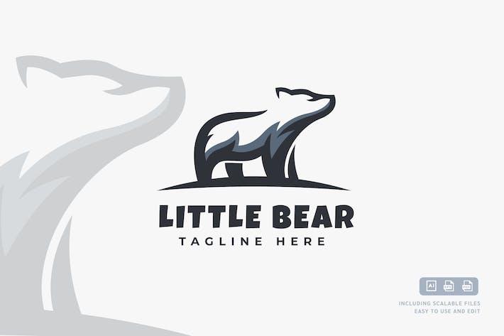 Thumbnail for Little Bear - Logo Design Template
