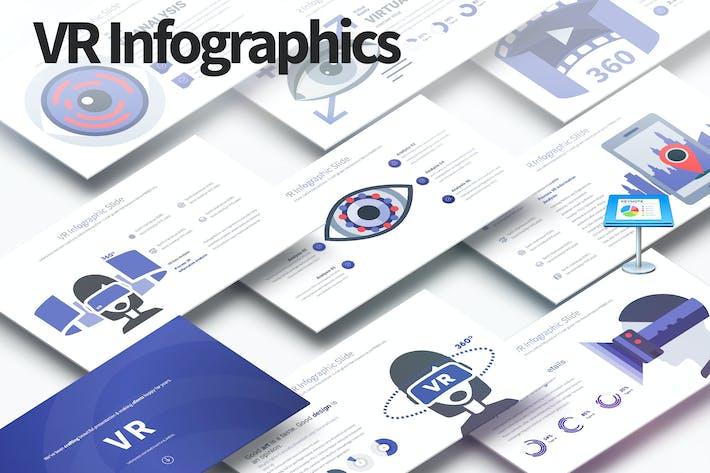 Thumbnail for VR - Keynote Infographics Slides