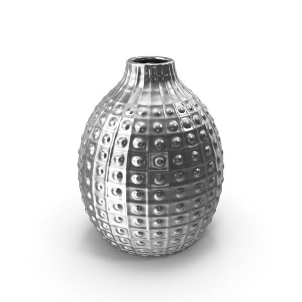 Украшение вазы Серебро