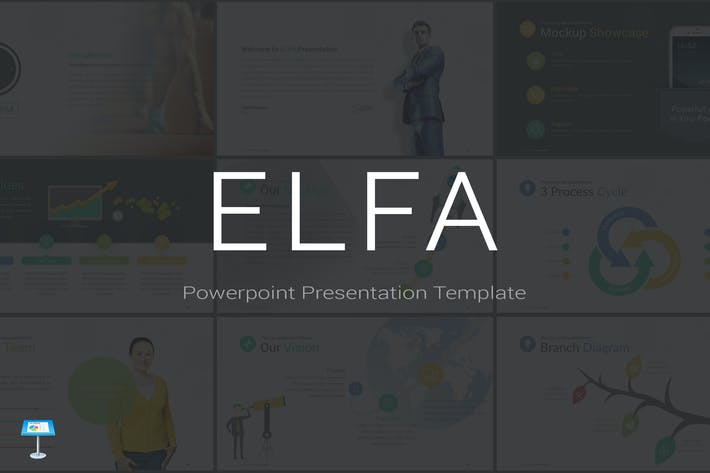Thumbnail for ELFA - Keynote Template