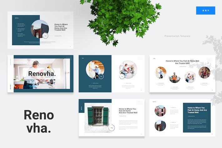 Thumbnail for Renovha - Home Renovation Keynote Presentation