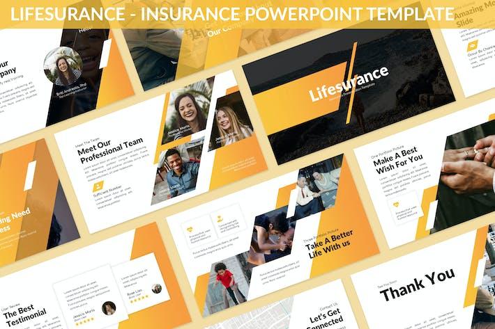 Thumbnail for Lifesurance - Insurance Powerpoint Template