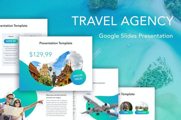 Thumbnail for Travel Agency Google Slides