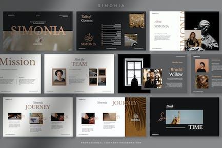 Simonia - Professional Company Presentation PPT