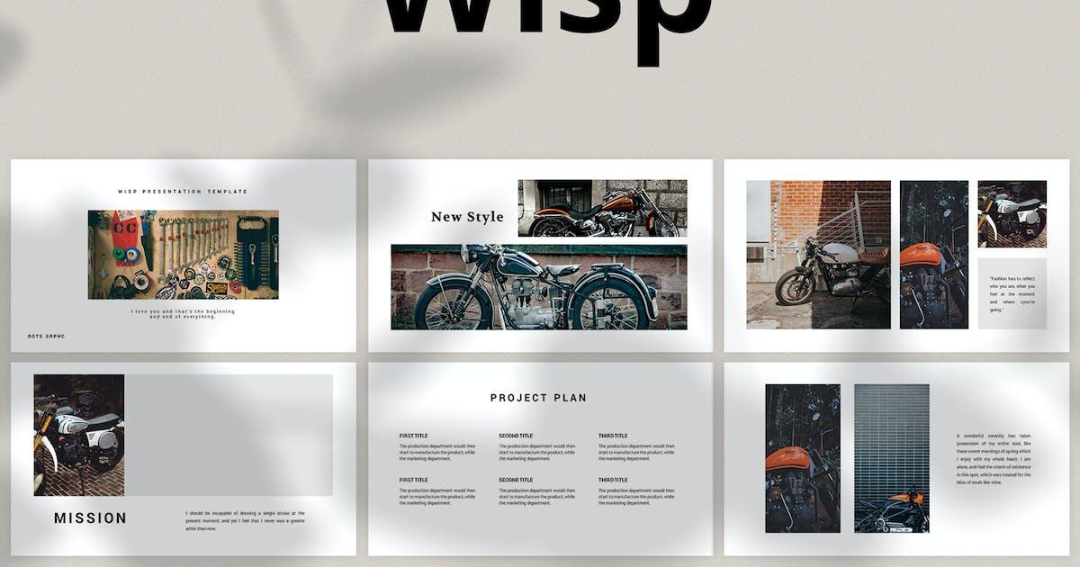 Download Wisp - Keynote by graptailtype