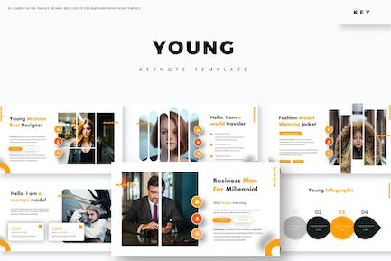 Young - Keynote Template