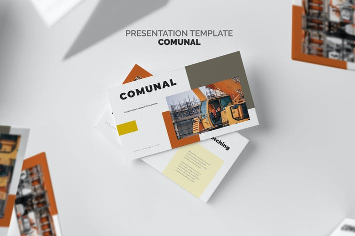 Thumbnail for Comunal : Construction & Engineering Google Slides