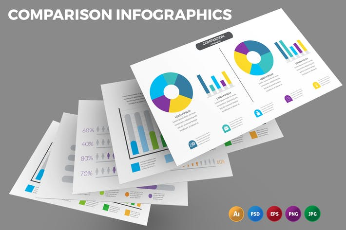 Comparison Chart – Infographics Design