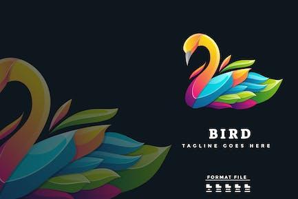 Colorful Swan Logo
