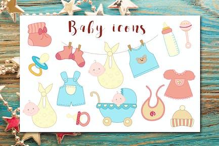 Icones bébé