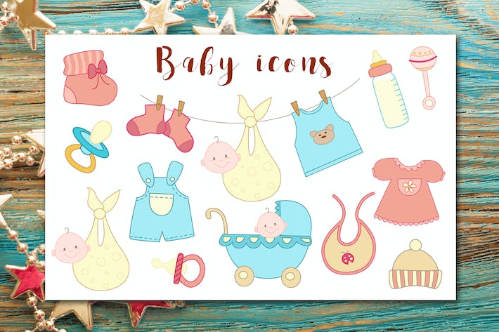 Thumbnail for Baby Icons