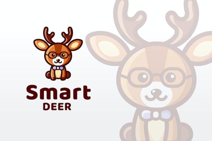 Thumbnail for Smart Deer Logo Template