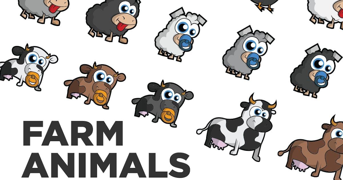 Download Farm Animals by RZDESIGN