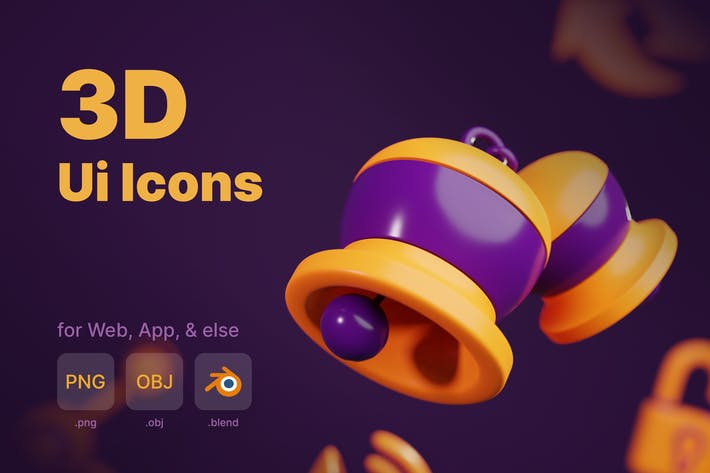 Ui 3D-Icons