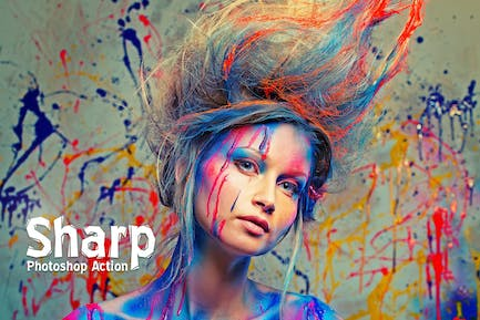 Sharp HDR Photoshop Action