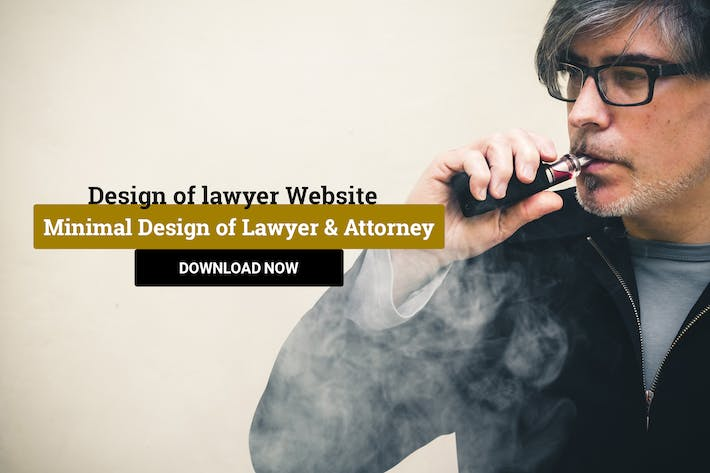 Cover Image For Minimal Design of Lawyer & Attorney Template