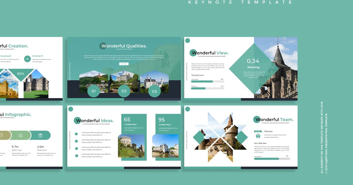 Download The Temple - Keynote Template by aqrstudio