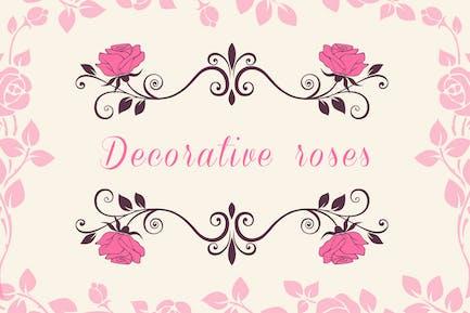 Rosas Decorativas