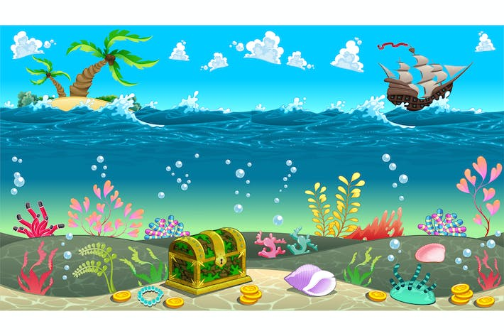 Thumbnail for Scene under the Sea