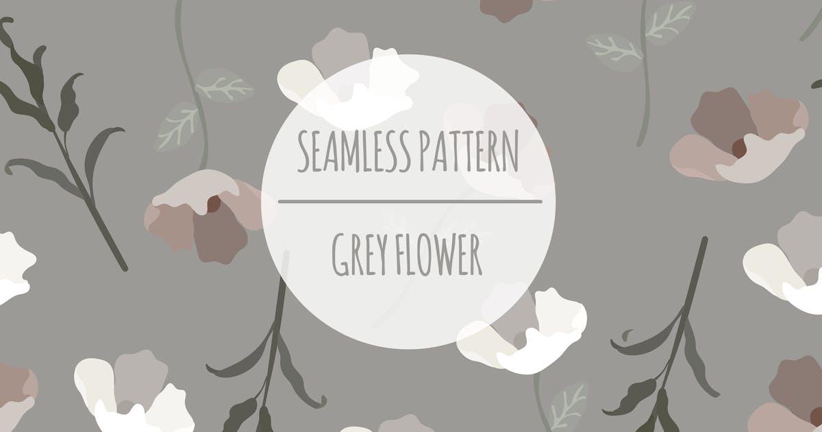 Download Grey Flower – Seamless Pattern by designesto